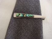 1970s Stratton Tie Clip - Abalone Shell and Silver tone metal (SOLD)